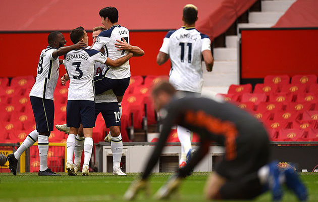 Манчестер Юнайтед - Тоттенхэм Хотспур 1:6 (4-й тур АПЛ 2020/21)