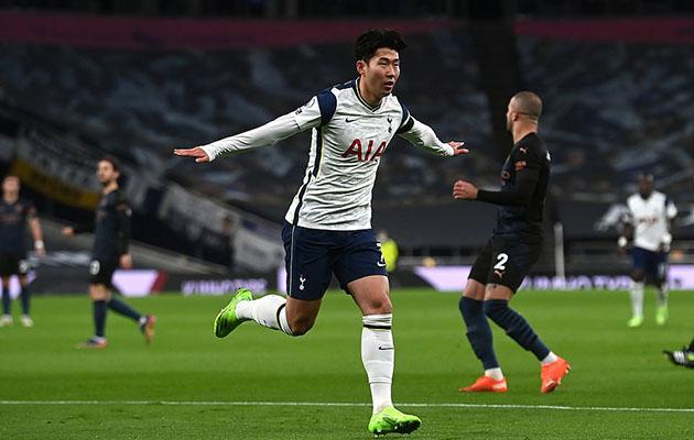 Тоттенхэм Хотспур - Манчестер Сити 2:0 (9-й тур АПЛ 2020/21)