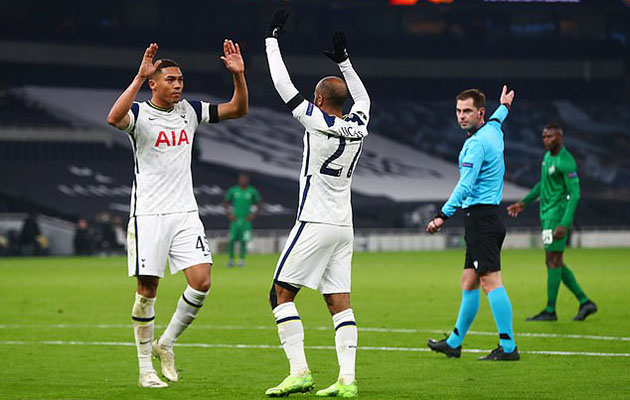 Тоттенхэм Хотспур - Лудогорец 4:0 (Лига Европы 2020/21)