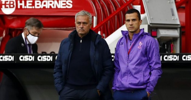 Jose-Mourinho-Tottenham-Sheffield-United