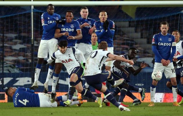 Эвертон - Тоттенхэм Хотспур 5:4 (Кубок Англии 2020/21)