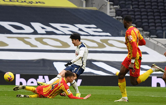 Тоттенхэм Хотспур - Вест Бромвич Альбион 2:0 (23-й тур АПЛ 2020/)