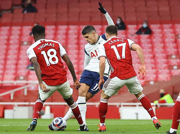 Арсенал - Тоттенхэм Хотспур 2:1 (28-й тур АПЛ 2020/21)