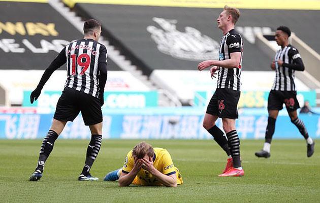 Ньюкасл Юнайтед - Тоттенхэм Хотспур 2:2 (30-й тур АПЛ 2020/21)